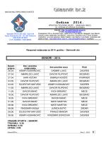 Glasnik br. 2-2014 - HRVATSKI TIPLERSKI SAVEZ
