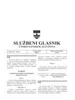Sluzbeni glasnici 9 - Vlada Unsko