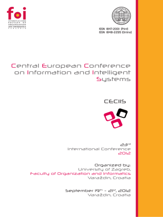 Central European Conference on Information and Intelligent