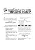 Službene novine Tuzlanskog kantona broj 11