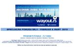 specijalna ponuda br.4 – februar & mart 2015