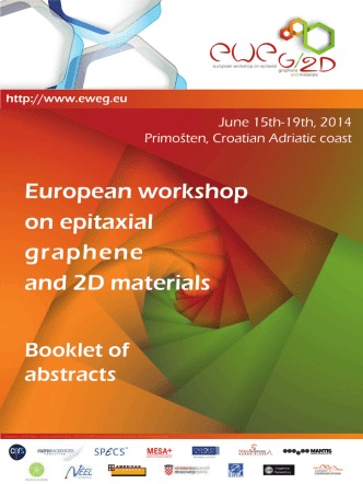 Booklet of abstracts - European Workshop on Epitaxial Graphene