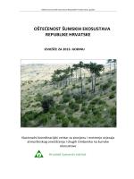 oštećenost šumskih ekosustava republike hrvatske