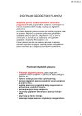 DIGITALNI GEODETSKI PLANOVI - Geodetski fakultet