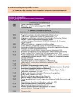 Program savjetovanja 2008.