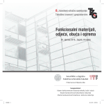 Program savjetovanja - Tekstilna znanost i gospodarstvo