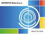 SAPIENTIA Nova