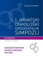 Konačni program / Sažetci / Posteri