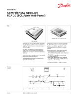Kontroler ECL Apex 20 i ECA 20 (ECL Apex Web