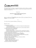 UPRAVA DRUŠTVA Na temelju članka 277. Zakona