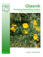 Glasnik HBoD-1-4-2013 - hirc.botanic.hr, Department of Botany