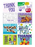ありがとう Gracias Obri nke THANK YOU ! Tack σα ευχαριστούµε