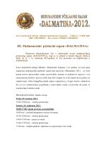 III. Međunarodni pčelarski sajam «DALMATI A»