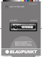 Radio CD MP3 WMA London MP37