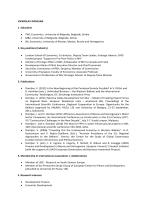 VJEKOSLAV DOMLJAN 1. Education • PhD, Economics, University