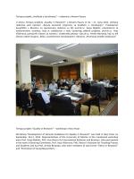 """Tempus projekt """"Kvaliteta u istraživanju"""" – radionica u Novom"""