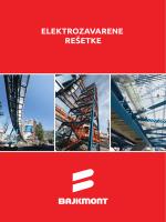 Elektrozavarene reštke - prospekt i tablice nosivosti