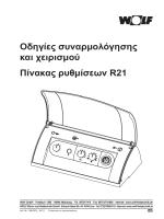 πινακας ρυθμισεων r21-οδηγιες συναρμολογησης