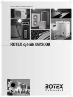 Rotex cijenik - GEO