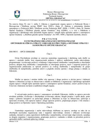 Bosna i Hercegovina Federacija Bosne i