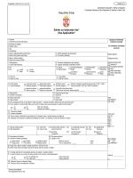 Republika Srbija Zahtev za izdavanje vize* Visa Application*