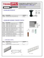 TEHNOSPOJ-katalog oprema za kuhinje