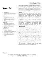 Case Study: Nike+