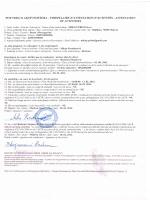 potvrda o aktivnostima - formulaire d`attestation d`activites