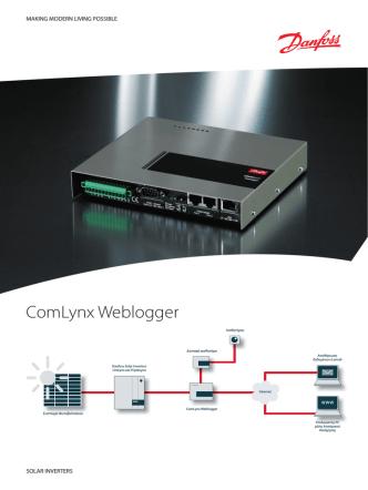 ComLynx Weblogger