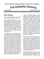 St. John`s Chronicle, December 25, 2014