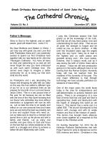 St. John`s Chronicle, December 25, 2014