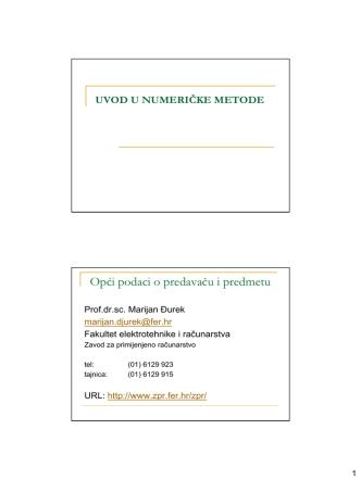 01-Uvod u numeričke metode - hr-HR