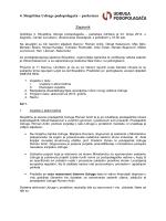 Zapisnik sa 4. godisnje skupstine - Udruga podopolagača