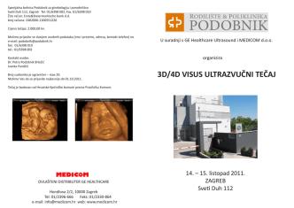 3D/4D VISUS ULTRAZVUČNI TEČAJ