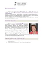 edukaciju pod nazivom Muzikoterapija u rehabilitacijskom i