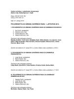 Povjerenstva za obranu završnog rada – Ljetni rok 2013.