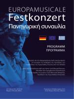 Festkonzert - Europamusicale