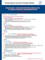 financijska i računovodstvena regulativa u funkciji razvoja
