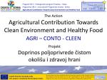 predstavljanje projekta Agri-Conto-Cleen