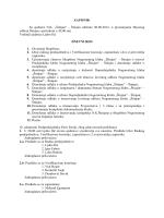 Zapisnik izborne skupstine 07.08.2012