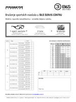 Brušenje sportskihnaočala u B&S SERVIS CENTRU