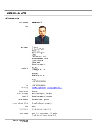 CV-biography - RP & RE LAB