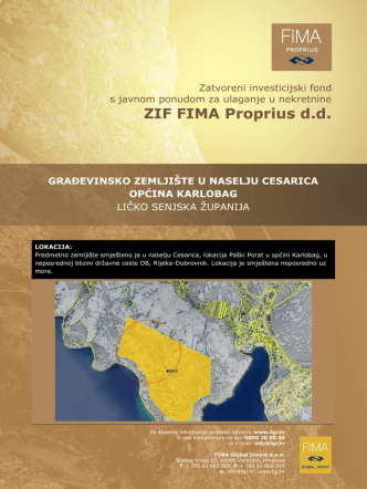 Cesarica - FIMA Global Invest
