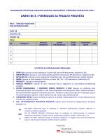 Formularu za prijavu projekta