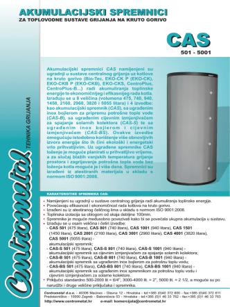 CAS- prospekt