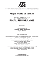 final programme - itc&dc - international textile, clothing & design
