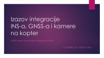 Izazov integracije INS-a, GNSS