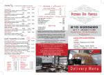 Κατεβάστε το μενού - Pizzeria Dei Fratelli