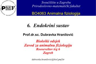 adenohipofiza - Sveučilište u Zagrebu