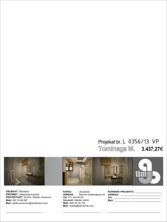 Da pogledate glavni projekat kupatila MarijaT kliknite ovde